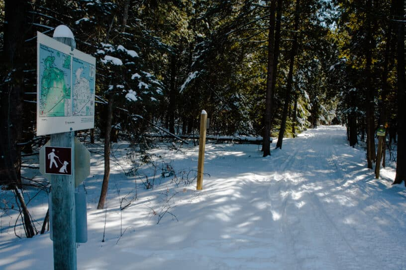 Snowmobile Trails in Wisconsin